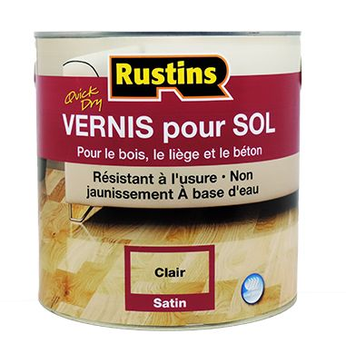 Rustins Coloured Satin Floor Varnish