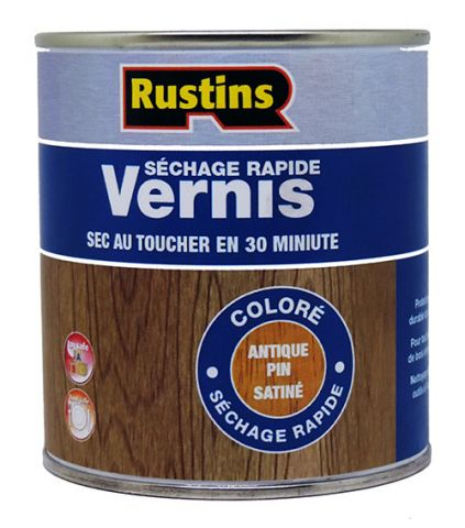 Rustins QD Coloured Satin Varnish