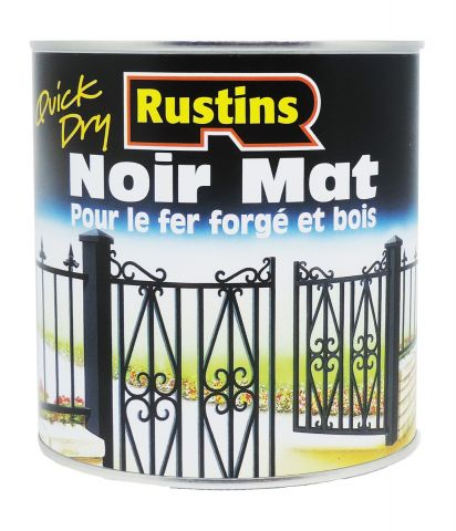Rustins QD Metal Black Matt