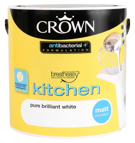 Crown Anti bacterial Kitchen & Bathroom Matt