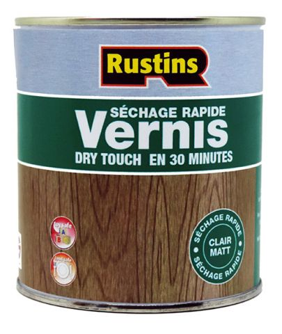 Rustins QD Clear Matt Varnish