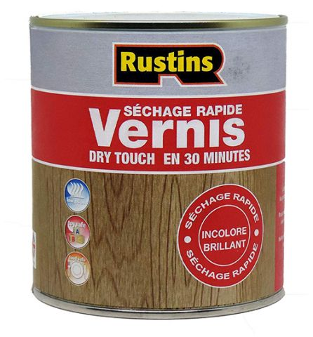 Rustins QD Clear Gloss Varnish