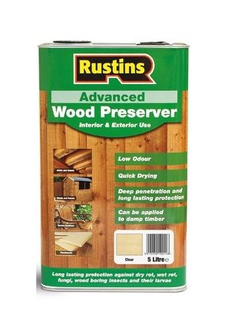 Rustins Advanced Clear Wood Preserver