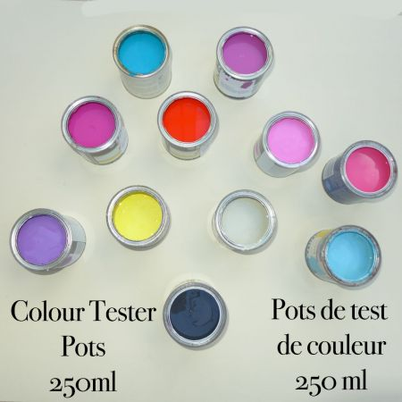 CT Matt Colour Tester Pots